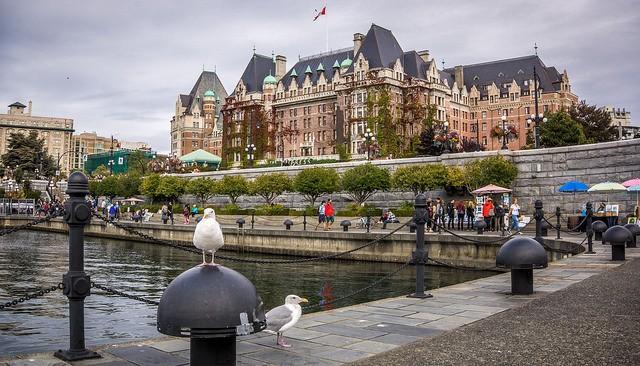 カナダ・ビクトリア観光