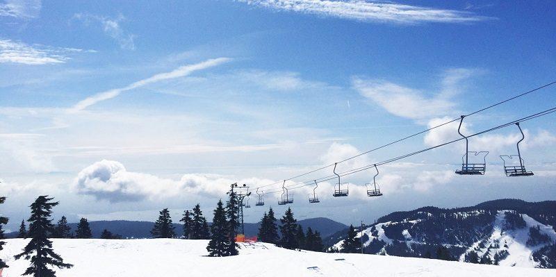 カナダスキー場